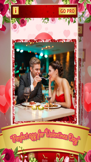 Valentine's Day 2015 Photo Frame - Romantic Love Picture Collage Editor FREE