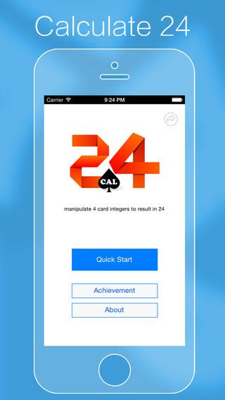 Calc24: Calculate Twenty-Four Points Card Game