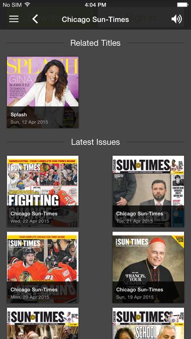 Chicago Sun-Times: E-Paper - appPicker