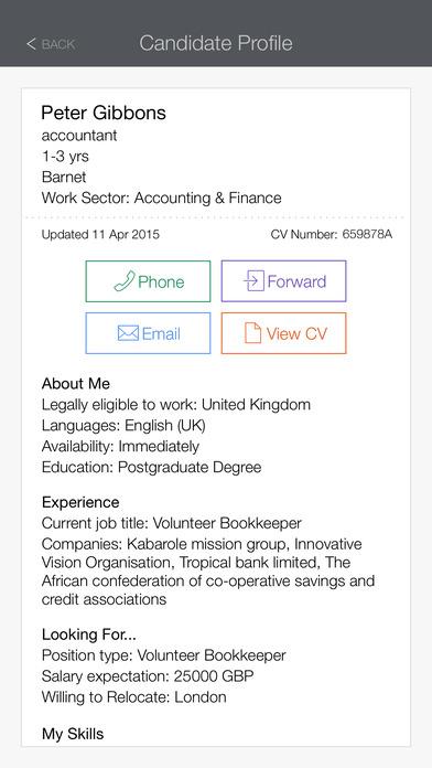 efinancialcareers recruiter 在 app store 上的内容