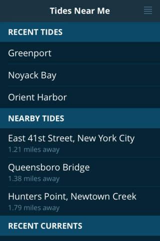 Tides Near Me - Free screenshot 1