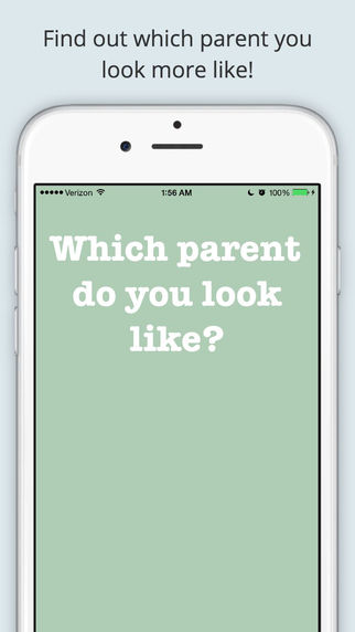 Like Parent Pro - Which parent do you look like Mom or Dad