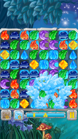 Moon Jewels - Match 3 Puzzle Game