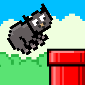 Flappy Manx Cat LOGO-APP點子
