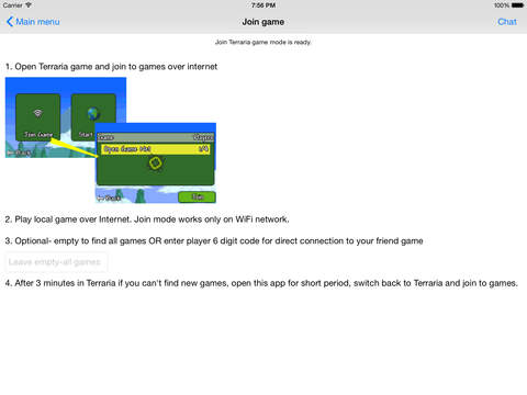 in terraria how to join a friends game