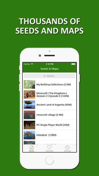 Seeds Maps Lite - Ultimate Collection for Minecraft PE PC