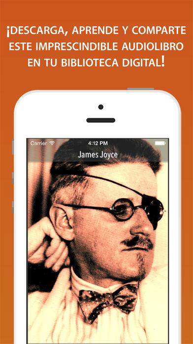 James Joyce iPhone Screenshot 1