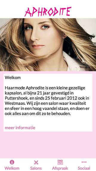 Haarmode Aphrodite
