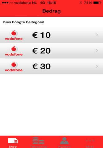 Vodafone - Prepaid screenshot 2