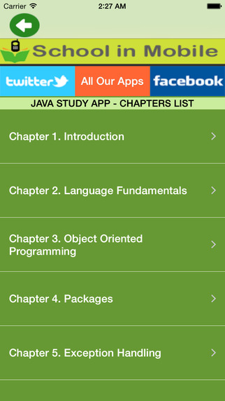 Java Study Tutorials