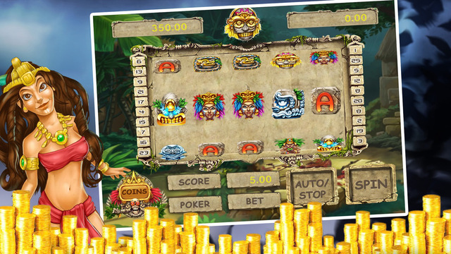 Mayan's Carnival Casino : Top Richest Casino with Lucky 5 Cards Poker Games