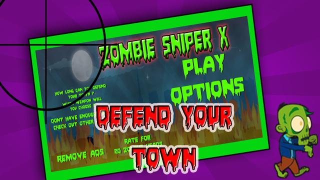 Zombie Sniper X