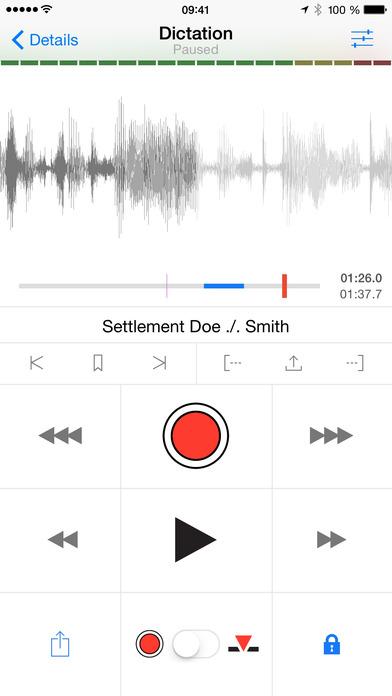 Dictamus - Dictate & Send iPhone Screenshot 1