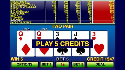 Screenshot 1 Video Poker ⋆