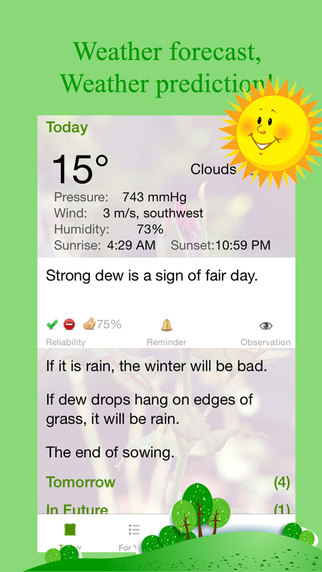 Weather Saying