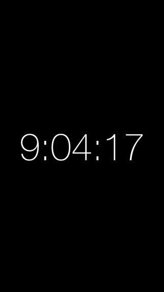 Time - Minimalistic Clock