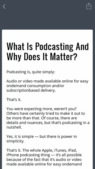 How To Podcast App