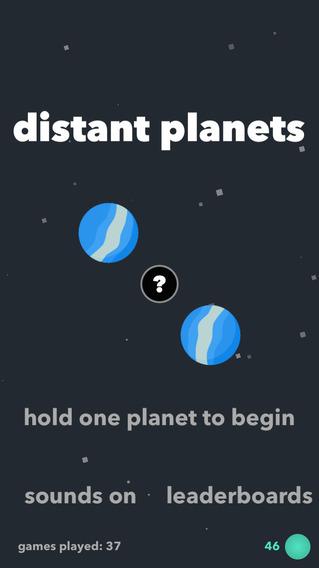 Distant Planets - Avoid Extinction