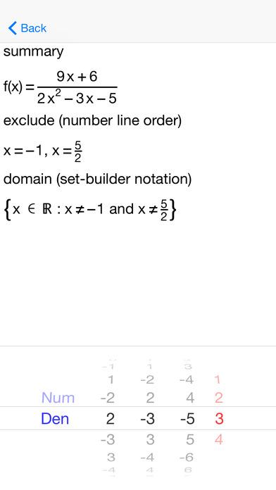 AFuncDomain Function Domains iPhone Screenshot 3