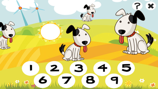 Animals of the Farm Counting Game for Children: Learn to Count Numbers 1-10
