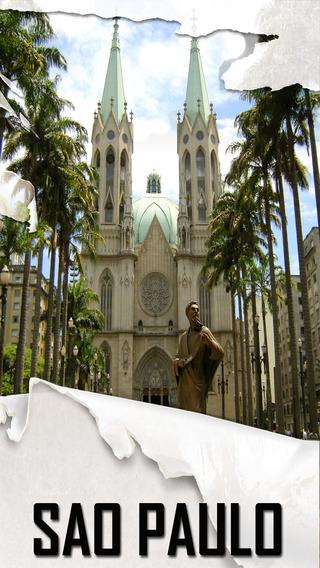 Sao Paulo Offline Map Tourism Guide