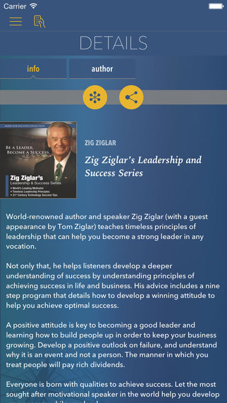 Zig Ziglar's Leadership and Success Series