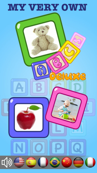 My Very Own English Alphabet ABCs Deluxe