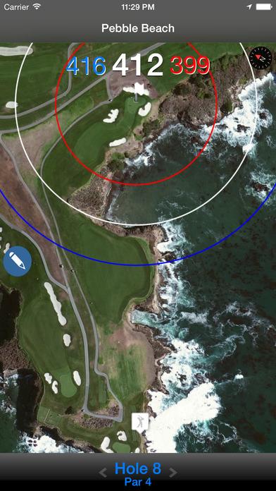 The Golf GPS Navigator iPhone Screenshot 1