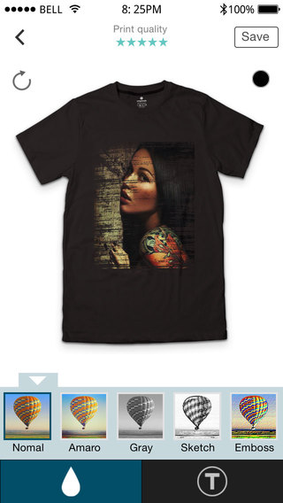 SnapMade - Custom T-Shirt Designs clothing Designs Make Your Own