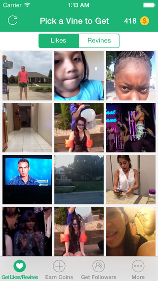 VFamous - Get Likes Revines for Vine