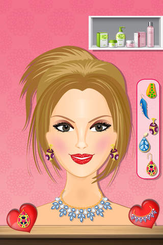 Dream Girl Salon - Little stylish princess makeover, spa salon and fashion style game screenshot 2
