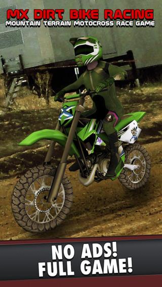 MX Dirt Bike Racing - Mountain Terrain Motocross Race Game