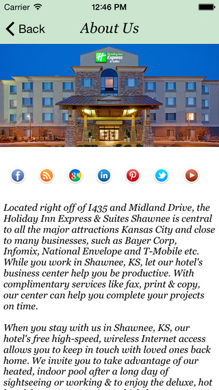 Holiday Inn Express Suites Shawnee