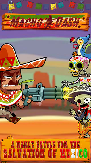 Macho Dash - Free Adventure Running Game