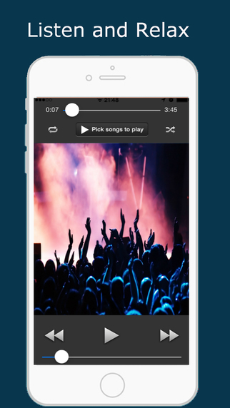 Light Music Player - Manage Your Playlist