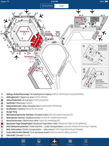 Berlin Offline Map - City Metro Airport Screenshots