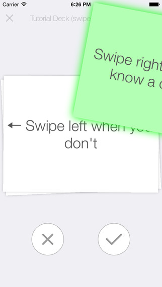 FlipFlash - Flash Cards You Can Swipe