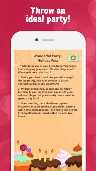 Wonderful Party - Holiday Fuss