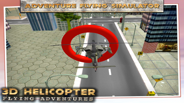 Helicopter Flying Adventures 3D
