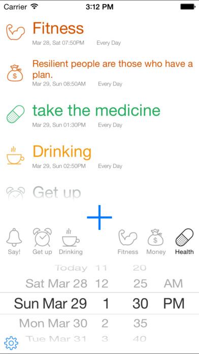ezAlarm/Lite iPhone Screenshot 1
