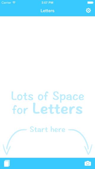 Letters - your digital tray