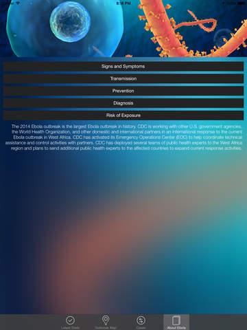 Ebola Tracker screenshot 8