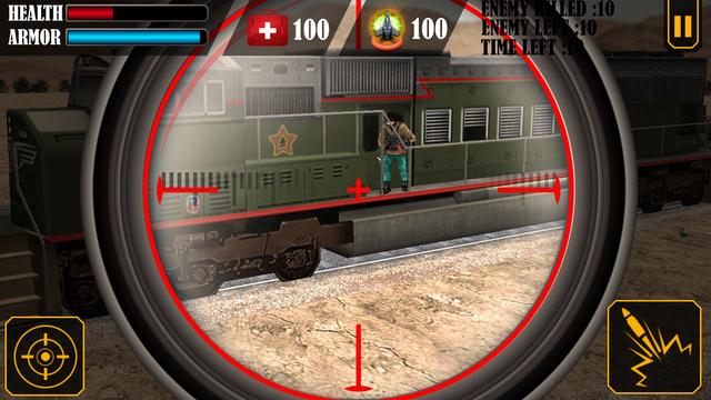 Train Sniper Simulator 3D