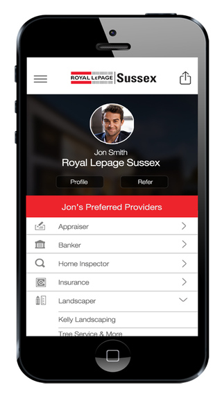 Royal Lepage Sussex Service Providers