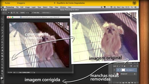 Restauro de Imagens para Photoshop Screenshots