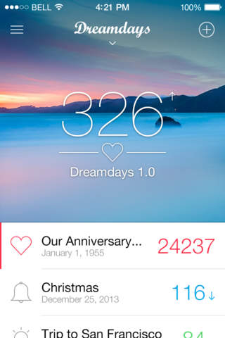 All New Dreamdays - Countdown to the Days that Matter screenshot 1