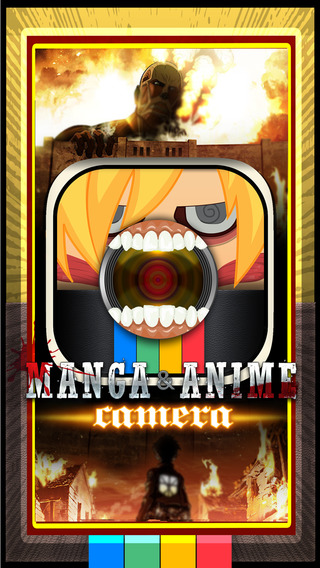 CamCCM - Sticker Manga and Anime Camera : Photos Booth Make up Attack on Titans for Teens