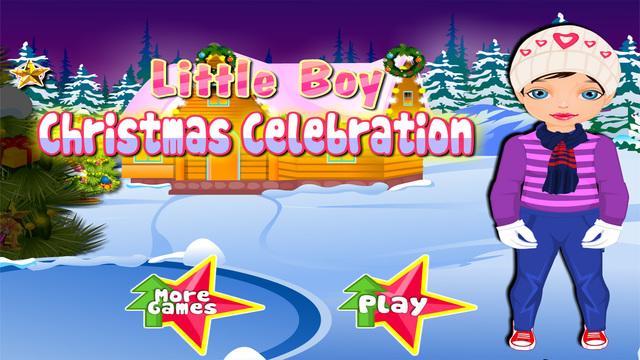 Little Boy Christmas Celebration - Christmas Games