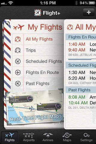 The Flight Tracker Pro screenshot 1