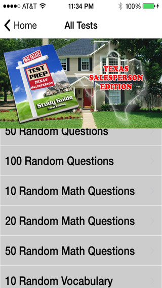 Texas Salesperson Real Estate Test Preparation - Practice Exam Questions with Answers and Explanatio